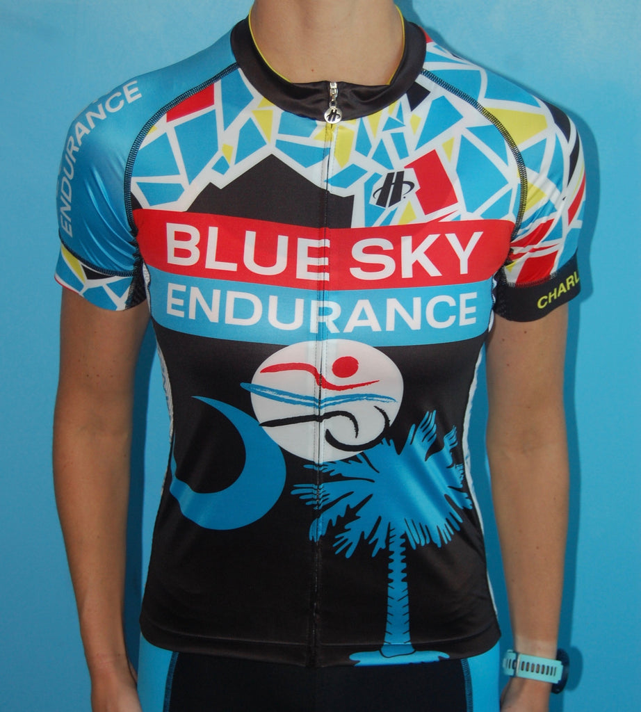 Women's Blue Sky Endurance Short Sleeve Jersey