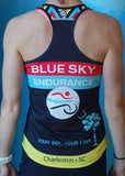 Women's Blue Sky Endurance Racing Singlet