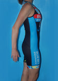 Women's Blue Sky Endurance Fluid+ Tri Skinsuit