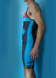 Men's Blue Sky Endurance Fluid+ Tri Skinsuit