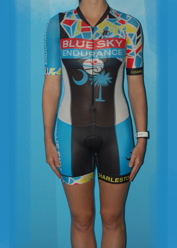 Womens Fluid+ Short Sleeve Skinsuit