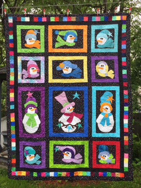 Snow Woman Block of the Month