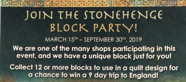 Block Party - March 15th - September 30, 2019