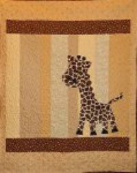 Georgi Giraffe - The Quilting Gnome