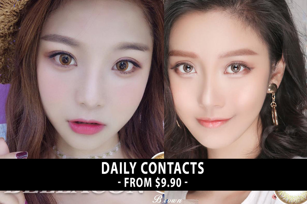 colored contact lenses colored contacts cosplay wigs makeup