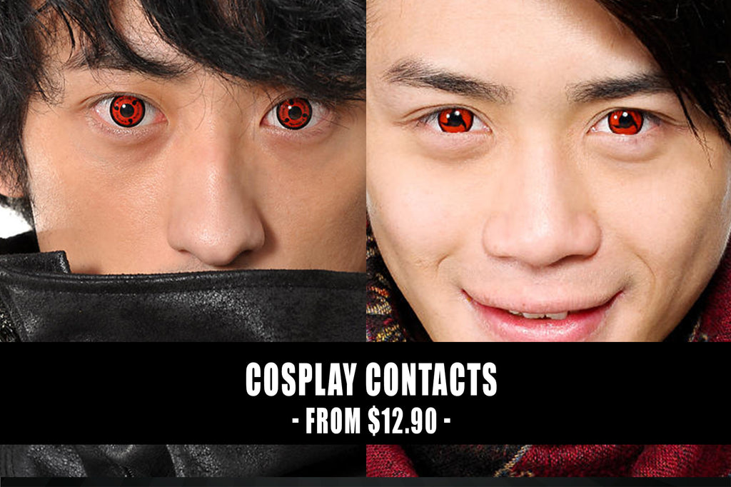 Colored Contact Lenses Cosplay Wigs Makeup Uniqso