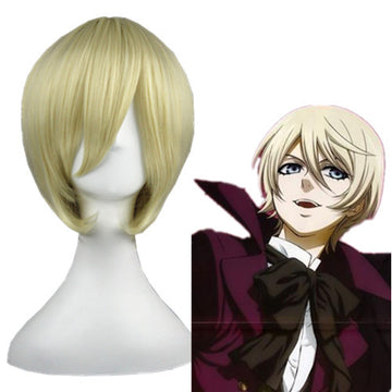 Cosplay Wig - Black Butler - Alois Trancy-UNIQSO