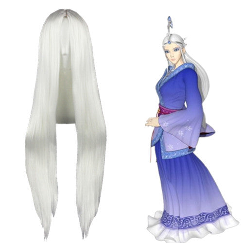 Cosplay Wig - The Legend Of Qin - Snow Girl-UNIQSO