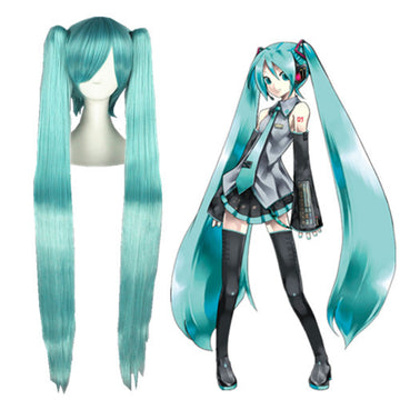 Cosplay Wig - Vocaloid - Miku 075B-UNIQSO