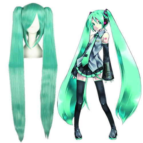 Cosplay Wig - Vocaloid - Miku 075C-UNIQSO