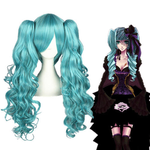 Cosplay Wig - Vocaloid - Miku 076A-UNIQSO