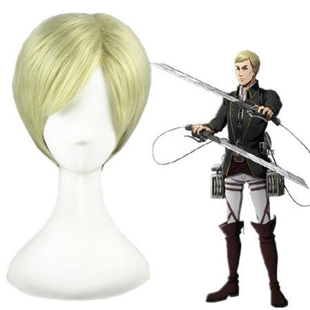 Cosplay Wig - Shingeki No Kyojin - Erwin Smith-UNIQSO