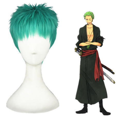Cosplay Wig - One Piece - Roronoa Zoro-UNIQSO