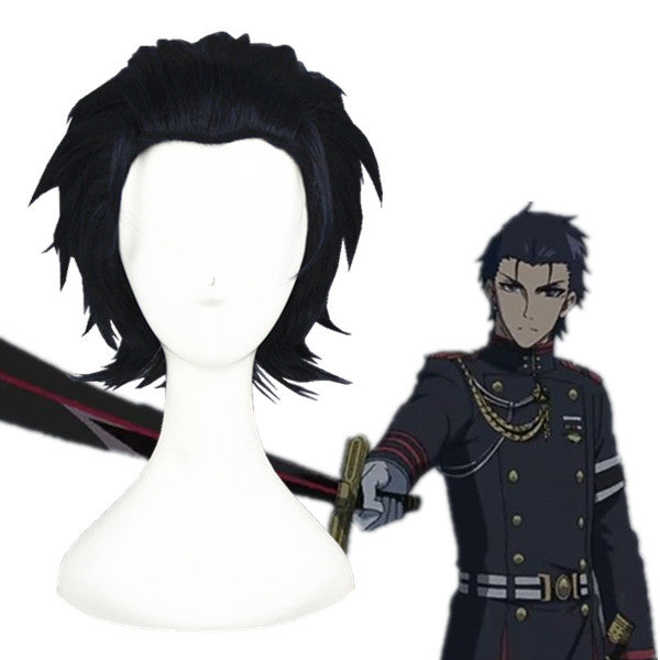 Cosplay Wig - Seraph of the End - Guren Ichinose-UNIQSO
