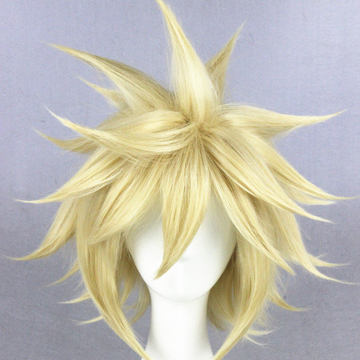 Cosplay Wig - Final Fantasy 7/Cloud Strife-UNIQSO