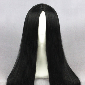 Cosplay Wig - Medium Black wig-UNIQSO