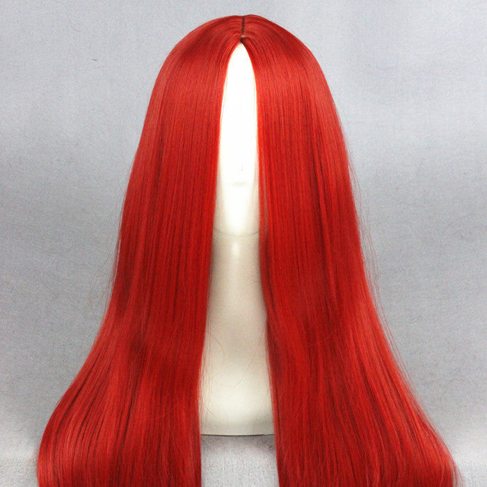 Cosplay Wig - Medium Red wig-UNIQSO