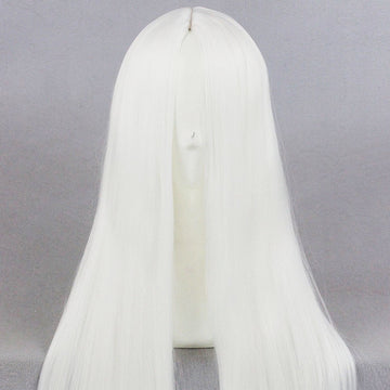 Cosplay Wig - Medium White wig-UNIQSO
