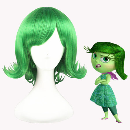 Cosplay Wig - Inside Out/Disgust-UNIQSO