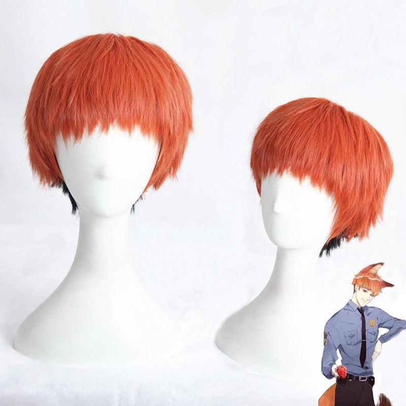 Cosplay Wig - Zootopia - Nick Foxy-UNIQSO