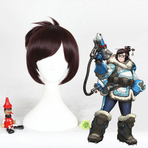 Cosplay Wig - Overwatch Mei-UNIQSO