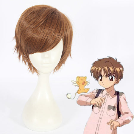 Cosplay Wig - Card Captor Sakura/Li Syaoran-UNIQSO