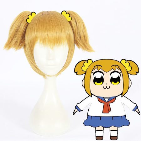 Cosplay Wig - POP Team Epic/Popuko-UNIQSO