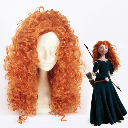 Cosplay Wig - Brave - Merida Princess-UNIQSO