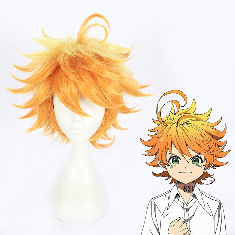 Cosplay Wig - The Promised Neverland-Emma – UNIQSO