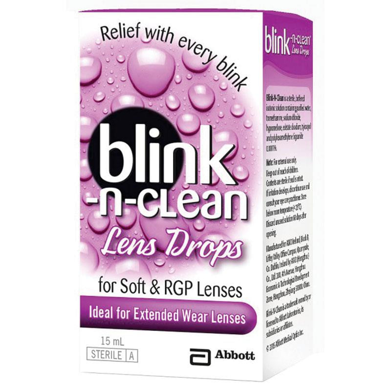 أكمل قطرة عدسة Blink-N-Clean-UNIQSO