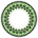Dolly Eye Bling Green-UNIQSO