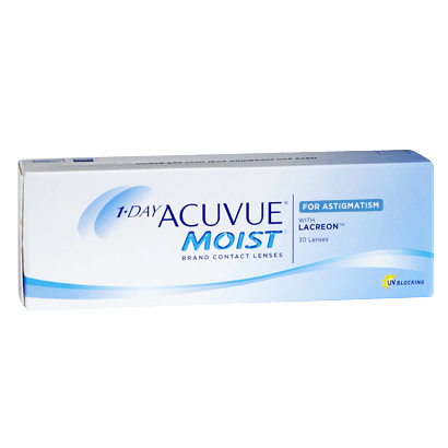 1 Day Acuvue Moist Daily Disposable For Astigmatism - 30 stuks-Clear Contacts-UNIQSO