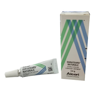 Alcon DuraTears Naturale Lubricant Ointment 3.5g-Eye drops-UNIQSO