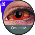 Phantasee Red Sclera lens Centurious-UNIQSO