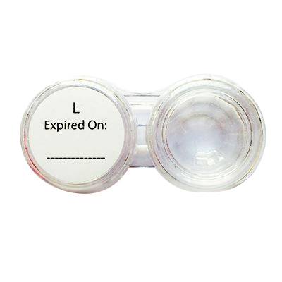 Lens Case - Big & Transparent-UNIQSO