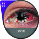 Phantasee White Sclera lens Locus-UNIQSO