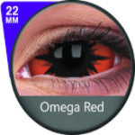Phantasee Sclera lens Omega Red-UNIQSO