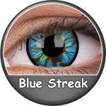 Phantasee Crazy Lens Blue Streak-UNIQSO