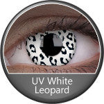 Phantasee UV Glow Crazy Lens White Leopard-UNIQSO