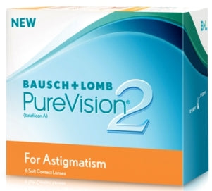 Bausch & Lomb PureVision2 For Astigmatism-UNIQSO