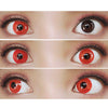 """Colorvue Crazy Lens Red Devil"" - 3 mėnesiai (receptinis) -UNIQSO"