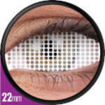 Phantasee Sclera Lens Rockslide/ Full White Mesh / White Screen-UNIQSO