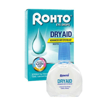 Rohto Eye Drops Dry Aid - Advance Dry Eye Relief-Oogdruppels-UNIQSO