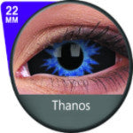 Phantasee Blue Black Sclera lens Thanos-UNIQSO