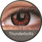 Phantasee Crazy Lens Red Thunderbolt-UNIQSO