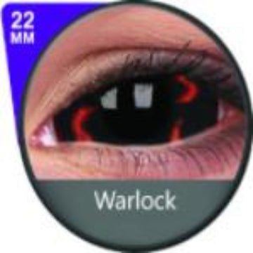 Phantasee Red Sclera Lens Warlock-UNIQSO