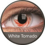 Phantasee Crazy Lens White Tornado-UNIQSO