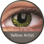 Phantasee Crazy Lens Yellow Artist-UNIQSO