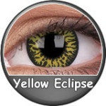 Phantasee Crazy Lens Yellow Eclipse-UNIQSO