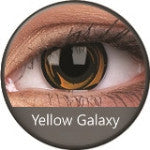 Phantasee Crazy Lens Yellow Galaxy-UNIQSO